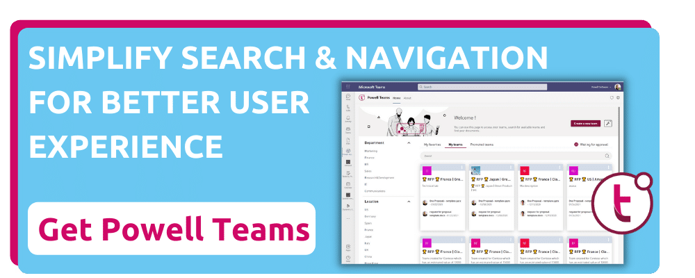 Simplify Search and Navigation in Microsoft Teams