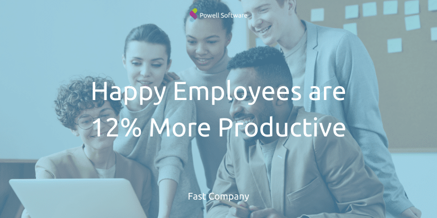 Happy Employees are Prouctive Employee Motivation