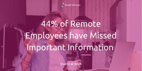 Management von Remote-Mitarbeitern Missing Important Info