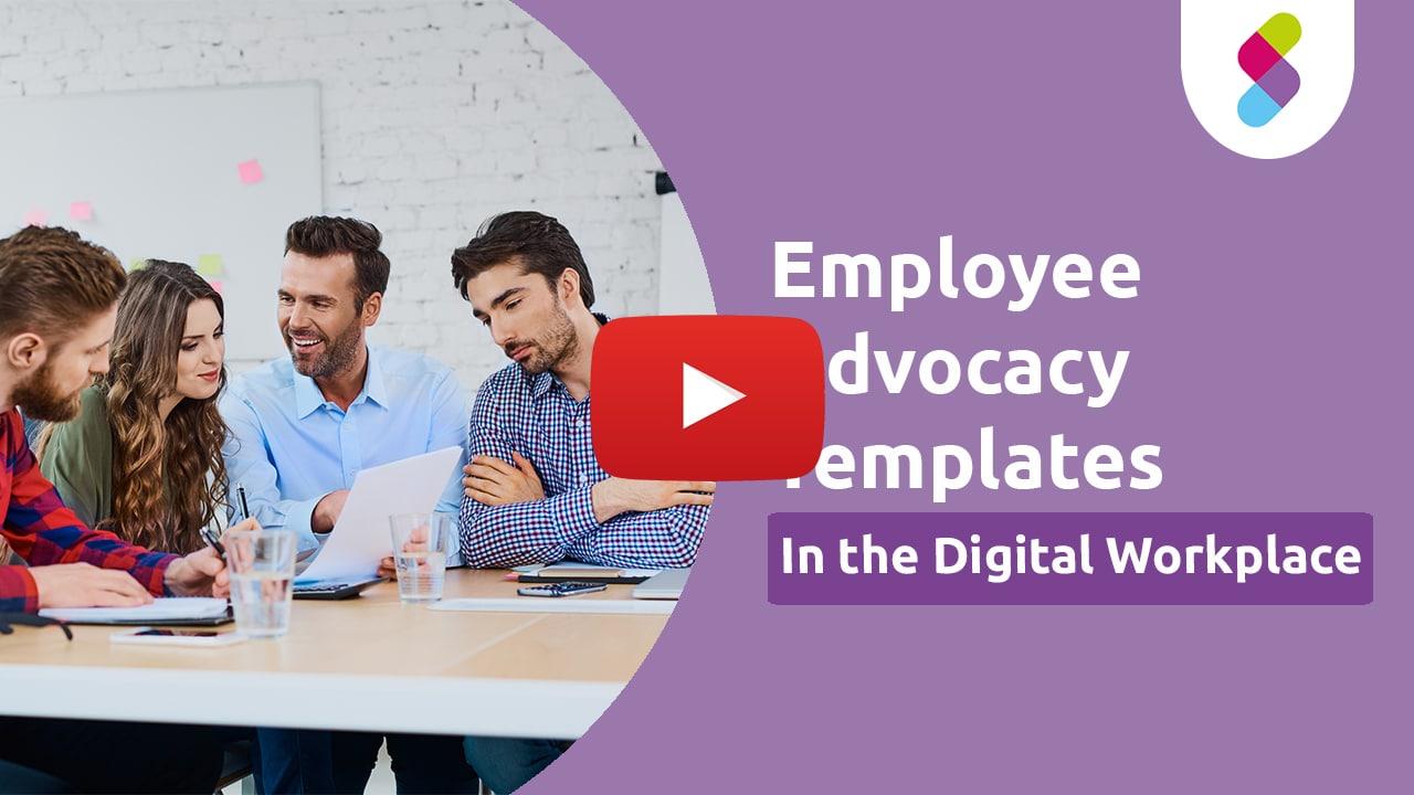 Employee Advocacy Vorlagen Thumbnail