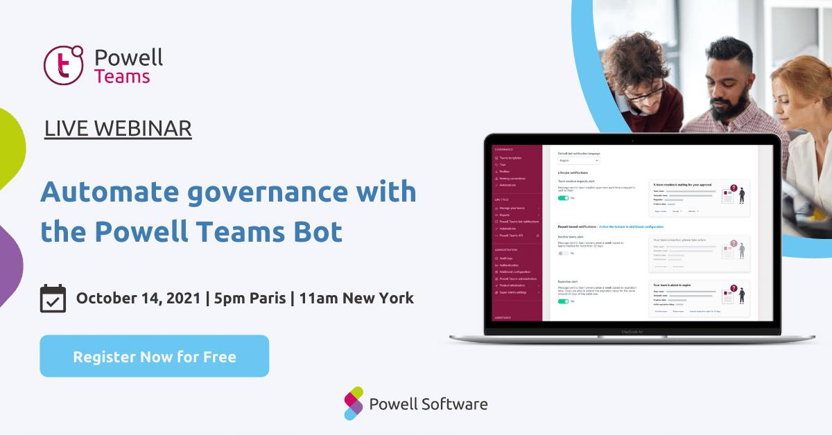 Powell Teams October Webinar
